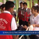 Chiclayo:  Se realizo ultimo simulacro escolar de sismo