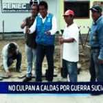 Chimbote: No culpan a Caldas por guerra sucia