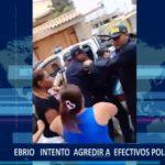 Piura: Sujeto en estado de ebriedad intentó agredir a policías