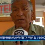 SUTEP prepara protesta para el 17 de octubre