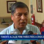 Teniente alcalde pone paños frios a crisis de MDSH