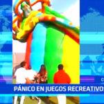 Chiclayo: Tobagán se desinfla y causa un herido y pánico en los usuarios