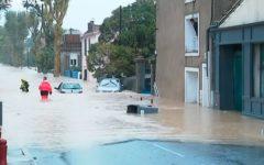 Francia: 13 muertos por inundaciones tras la tormenta Leslie