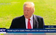 USA: Trump alerta sobre pandilleros en caravana migrante