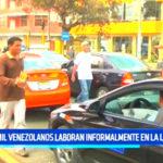 Cuarenta mil venezolanos laboran informalmente en La Libertad