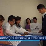 Chiclayo: En Lambayeque se utilizara sistema de escrutinio automatizado