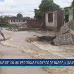 Chiclayo: Más de 100 mil personas en riesgo de darse lluvias intensas