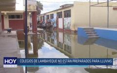 Chiclayo: Colegios de Lambayeque no están preparados para lluvias