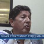 """Chiclayo: """"Llegada de venezolanos es beneficioso para el País"""""""