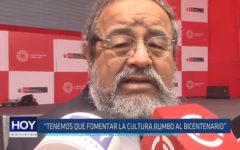"""Chiclayo: """"Tenemos que fomentar la cultura rumbo al bicentenario"""""""