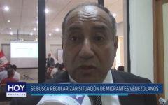 Chiclayo: Se busca regularizar situación de migrantes venezolanos