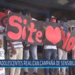 Chiclayo: Adolescentes realizan campaña de sensibilización