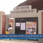 Chiclayo : Continúa concurso interescolar de recojo de criaderos