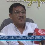 Chiclayo: Escolares lambayecanos participaron de feria tecnológica