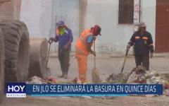 Chiclayo: En JLO se eliminará la bsura en quince días