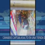 Chiclayo: Cámaras captan asalto en una tienda en JLO