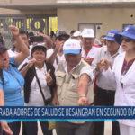 Chiclayo: Trabajadores de salud se desangran en segundo día de huelga