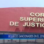 Chiclayo: 80 jueces sancionados en el 2018