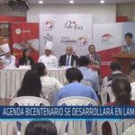 Chiclayo: Agenda bicentenario se desarrollará en Lambayeque