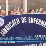 Chiclayo: Enfermeras del hospital regional acatan paro de 24 horas