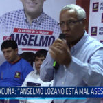 "Chiclayo: Acuña: ""Anselmo Lozano está mal asesorado"""