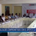 Chiclayo: Alcaldes comprometidos con el apoyo a la cultura