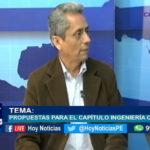 Chiclayo: Propuestas para el capítulo ingeniería civil.