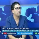 Chiclayo: Leucemia, diagnóstico y tratamiento.