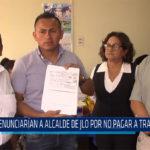 Chiclayo: Denunciaran a alcalde de JLO por no pagar a trabajadores