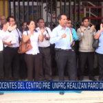 Chiclayo: Docentes del centro pre UNPRG realizan paro de 24 horas