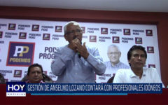 Chiclayo. Gestión de Anselmo Lozano contara con profesionales idóneos
