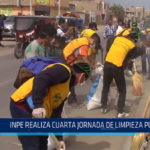 Chiclayo: INPE realiza cuarta jornada de limpieza pública