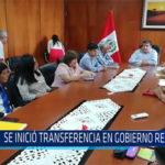 Chiclayo: Se inició transferencia en Gobierno Regional