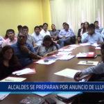 Chiclayo: Alcaldes se preparan por anuncio de lluvias