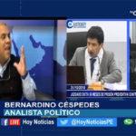Chiclayo: Entrevistamos al abogado Bernardino Céspedes