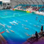 Partido de selecciones femeninas de WATERPOLO Brasil 16-6 Colombia