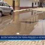 Chiclayo: Buzón taponeado con tierra perjudica a vecinos de JLO