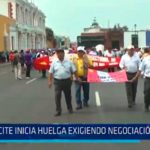 CITE inicia huelga exigiendo negociación colectiva