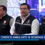 Comercio ambulante se desborda en Trujillo
