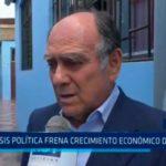 Crisis política frena crecimiento económico del Perú