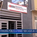 Chiclayo: Defensoría Pública atiende 1300 casos de conciliación