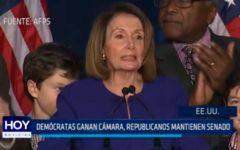 USA: Demócratas ganan cámara, republicanos mantienen senado