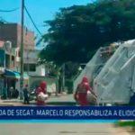 Deuda de SEGAT: Marcelo responsabiliza a Elidio Espinoza