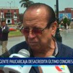 Dirigente Paucarcaja desacredita último congreso aprista
