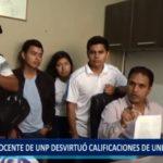 Piura: Docente de la UNP desvirtuó calificaciones de estudiantes