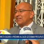 Economista sugiere a próximo alcalde gestionar presupuesto externo