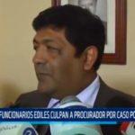 Ex funcionarios ediles culpan a procurador por caso polideportivo