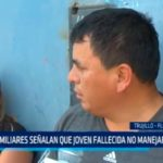 Familiares señalan que joven fallecida no manejaba vehículo