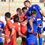 Mannucci vs. Vallejo: Primer tiempo final ida Segunda Profesional