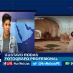Chiclayo: En nuestro set dialogamos con el fotógrafo. Gustavo Rodas